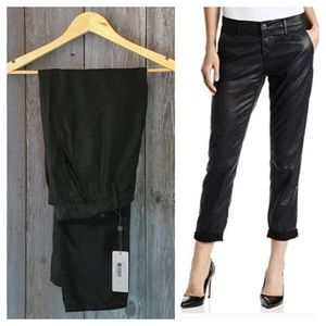 AG Black Tristan Tailored Trousers